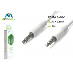 Cable de audio 3.5mm de Mimacro (1m) 32005