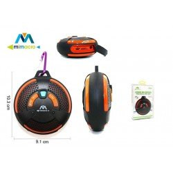 Mini altavoz Bluetooth con mosquetón Mimacro 34556