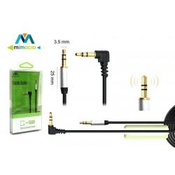 Cable de audio ángulo derecho Mimacro (1m) 32016