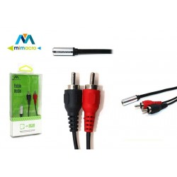 Cable de audio RCA Mimacro (0.2m) 32578