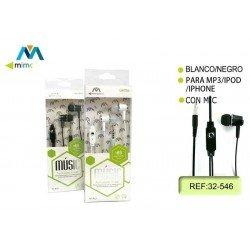 Auriculares manos libres MI-21 Mimacro 32546